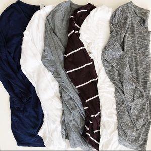 Small/Medium Maternity Shirt Bundle